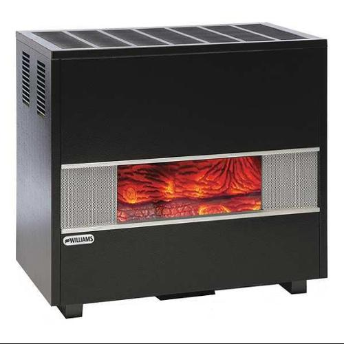 WILLIAMS COMFORT PRODUCTS 5002521A Hearth Heater,Top,LP,50000BtuH G9612741