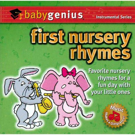 Baby Genius First Nursery Rhymes Cd