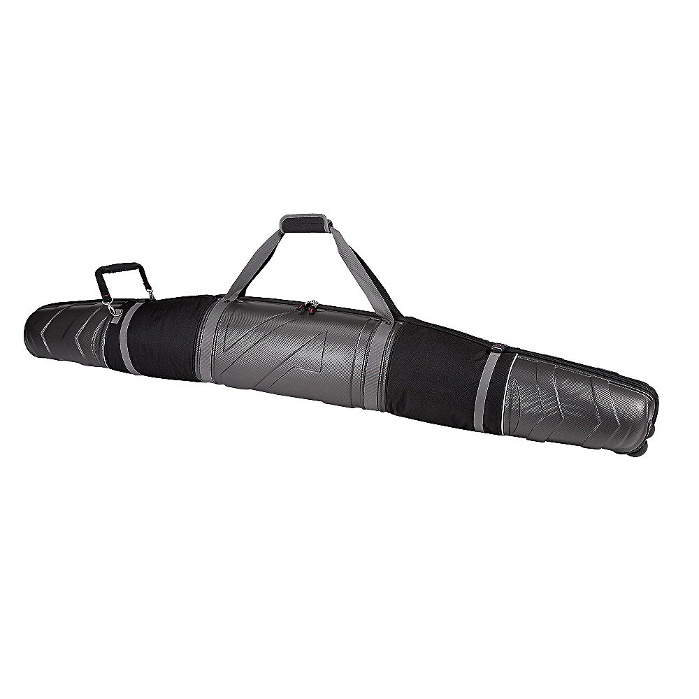 Athalon Molded Wheeling Double Ski Bag - 185cm