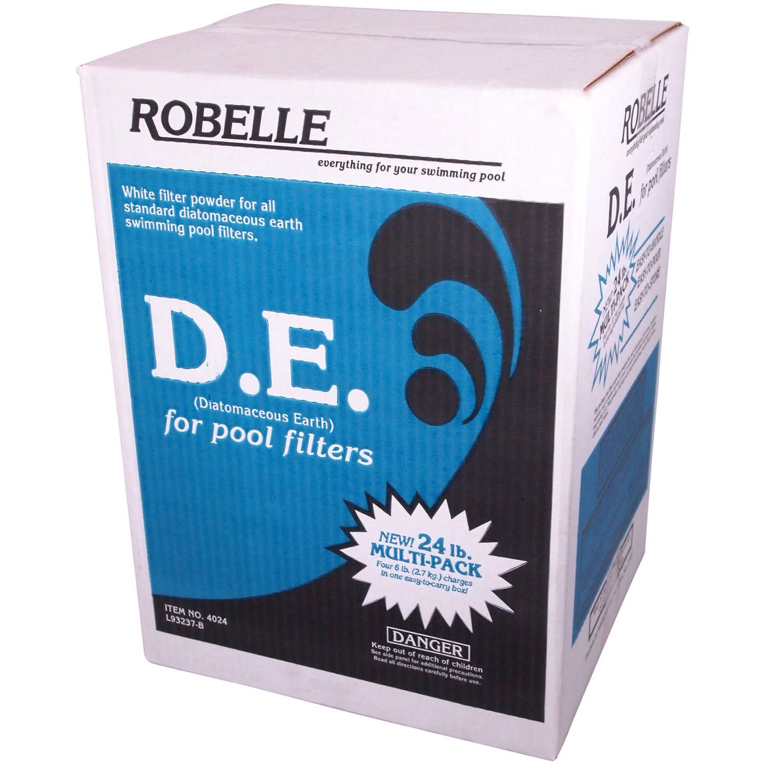 Robelle D.E./Diatomaceous Earth Powder for Swimming Pools, 24-Pound