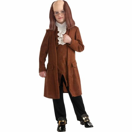 Benjamin Franklin Halloween Costume (Benjamin Franklin Deluxe Child)