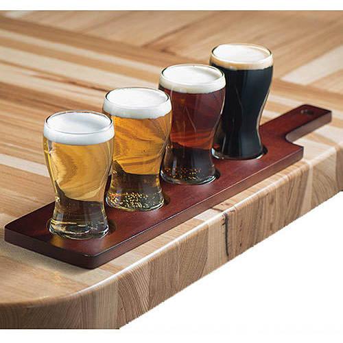 Stump Printing Mini Pub Glass Beer Flight Set