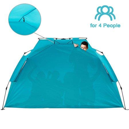 Alvantor Beach Tent Super Bluecoast Beach Umbrella Outdoor