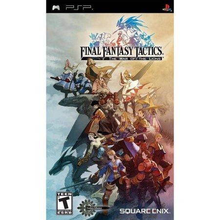 Square Enix Final Fantasy Tactics: War of the Lions PSP ()
