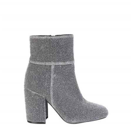 Fontana 2.0 LULU-ARGENTO-Grey-36 Womens Fall & Winter Ankle Boot, Grey - Size (Lulu's Plus Size)