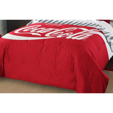 Coca Cola Twin Full Comforter Pillow Sham Set Enjoy Coke