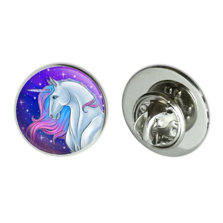 Royal Blue Metal - Majestic Unicorn Pink Purple Blue Metal 0.75