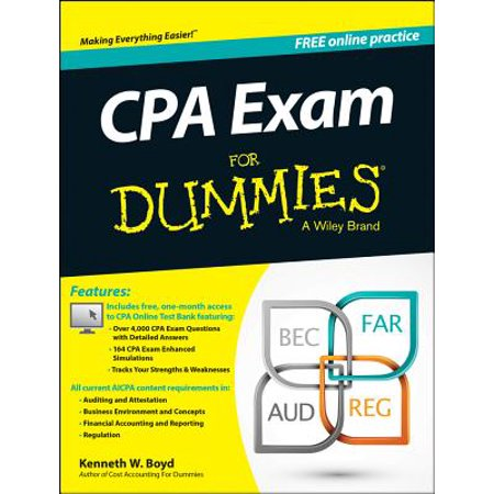 CPA Exam for Dummies with Access - Access Code Module