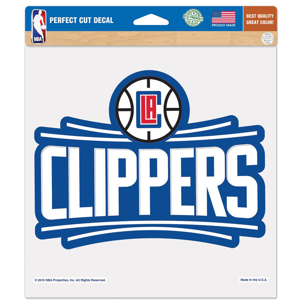 """LA Clippers WinCraft 8"""" x 8"""" Color Decal - No Size"""