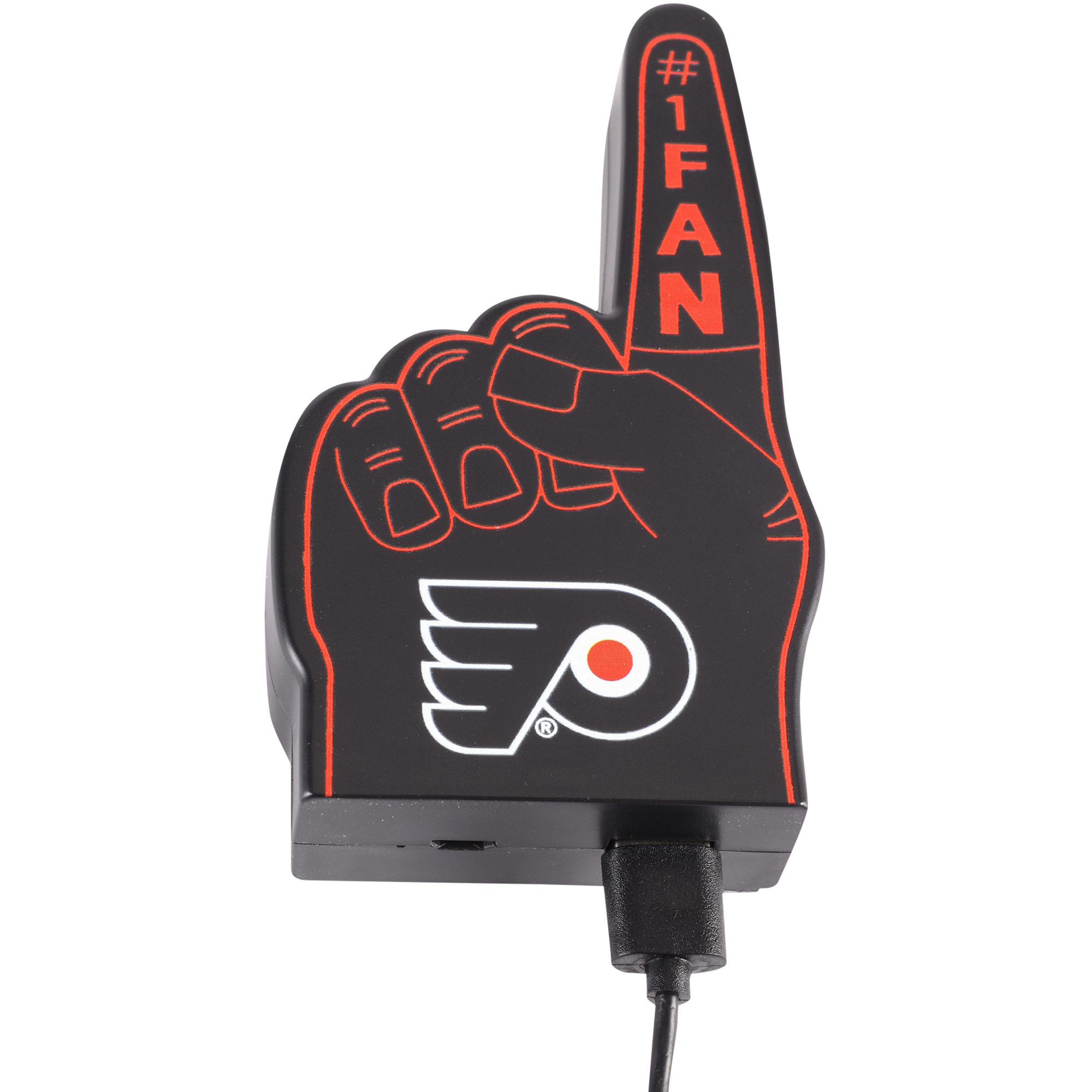 Philadelphia Flyers #1 Fan Finger Power Bank - No Size