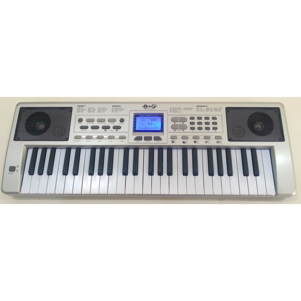 Little Virtuoso Master Classic Teaching Keyboard, Silver
