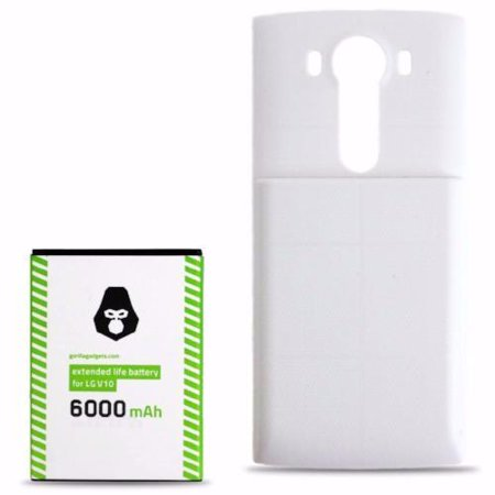 LG V10 Extended Life Replacement Battery (6000mAh)
