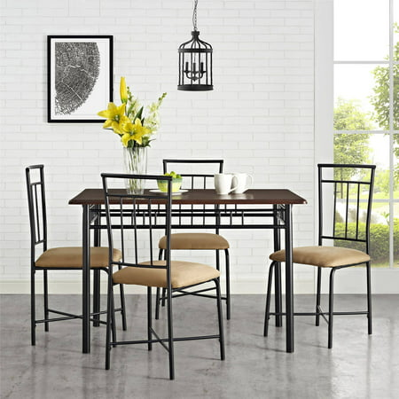 Mainstays 5 Piece Dining Set, Multiple (6 Piece Side Set)