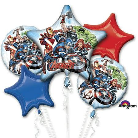Marvel Avengers Character Authentic Licensed Theme Foil Balloon - Avengers Decoration