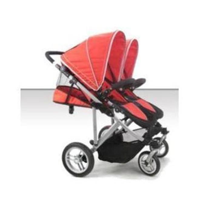 StrollAir SM54432R 2012 My Duo Twin Stroller - Red
