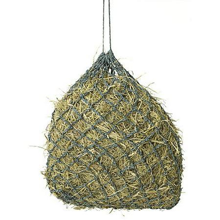 Niblet Slow Feed Hay Net Stall Black/Purple