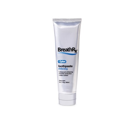 BreathRx DIS363 Whitening Toothpaste Powered by