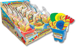 Beach Bucket Toys N' Treats: 12 Count by Foreign Candy Company