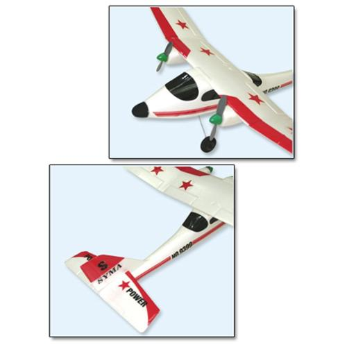 "20"" Wingspan Super Sonic RC Plane Radio Control Airplane Aircraft (Gift Idea) by"