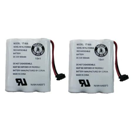 Uniden BT-905 Rechargeable Cordless Handset Phone Battery 3.6V 600mAh NiMH (Handset Amplified Battery)