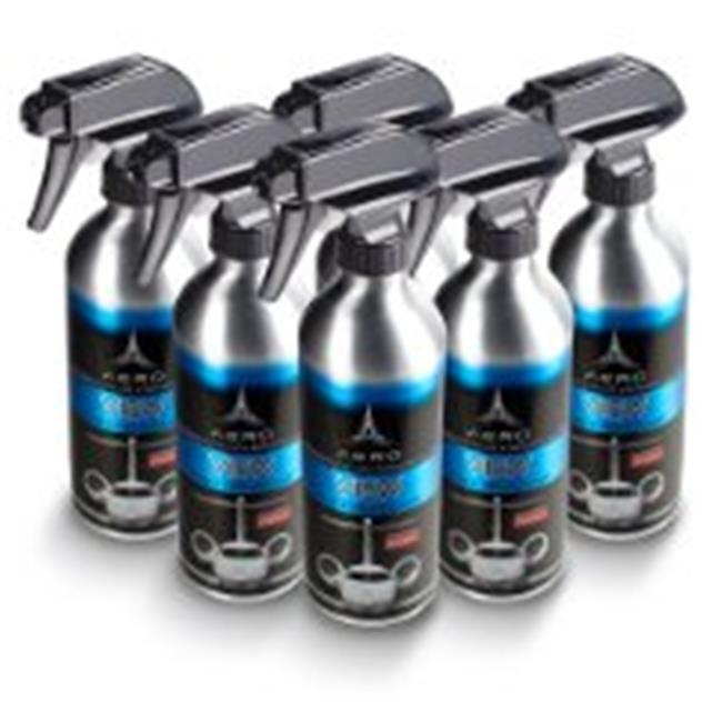 Aero 5688-6 16 Oz. View Interior and Exterior Glass Cleaner, 6 Count, Aluminum Bottles by Aero