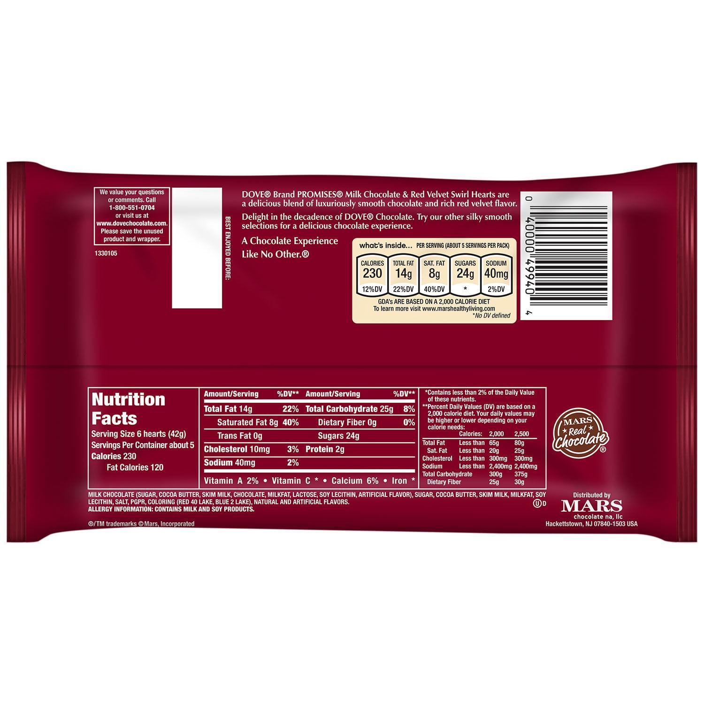 Milk Chocolate and Red Velvet Swirl