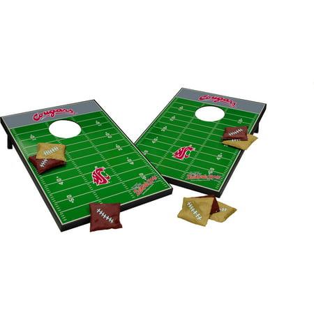 Cougars Tailgate (Wild Sports Collegiate Washington State 2x3 Field Tailgate Toss )