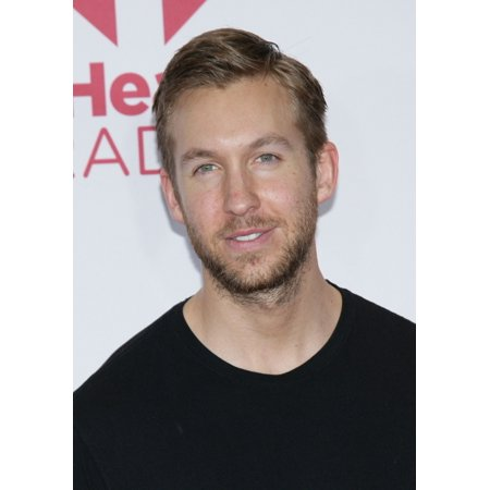 Calvin Harris In Attendance For 2014 Iheartradio Music Festival - Sat Part 2 Mgm Grand Garden Arena Las Vegas Nv September 20 2014 Photo By James AtoaEverett Collection Photo Print (Calvin Harris Las Vegas Halloween)