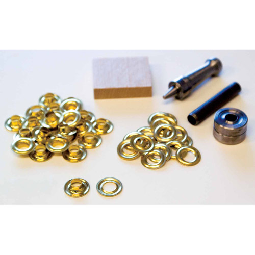 Lord and Hodge Inc. #1 Brass Handi-Grommet Kits, 24pk