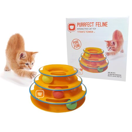 Purrfect feline premium interactive cat toy burrow mouse for Diy cat teaser wand
