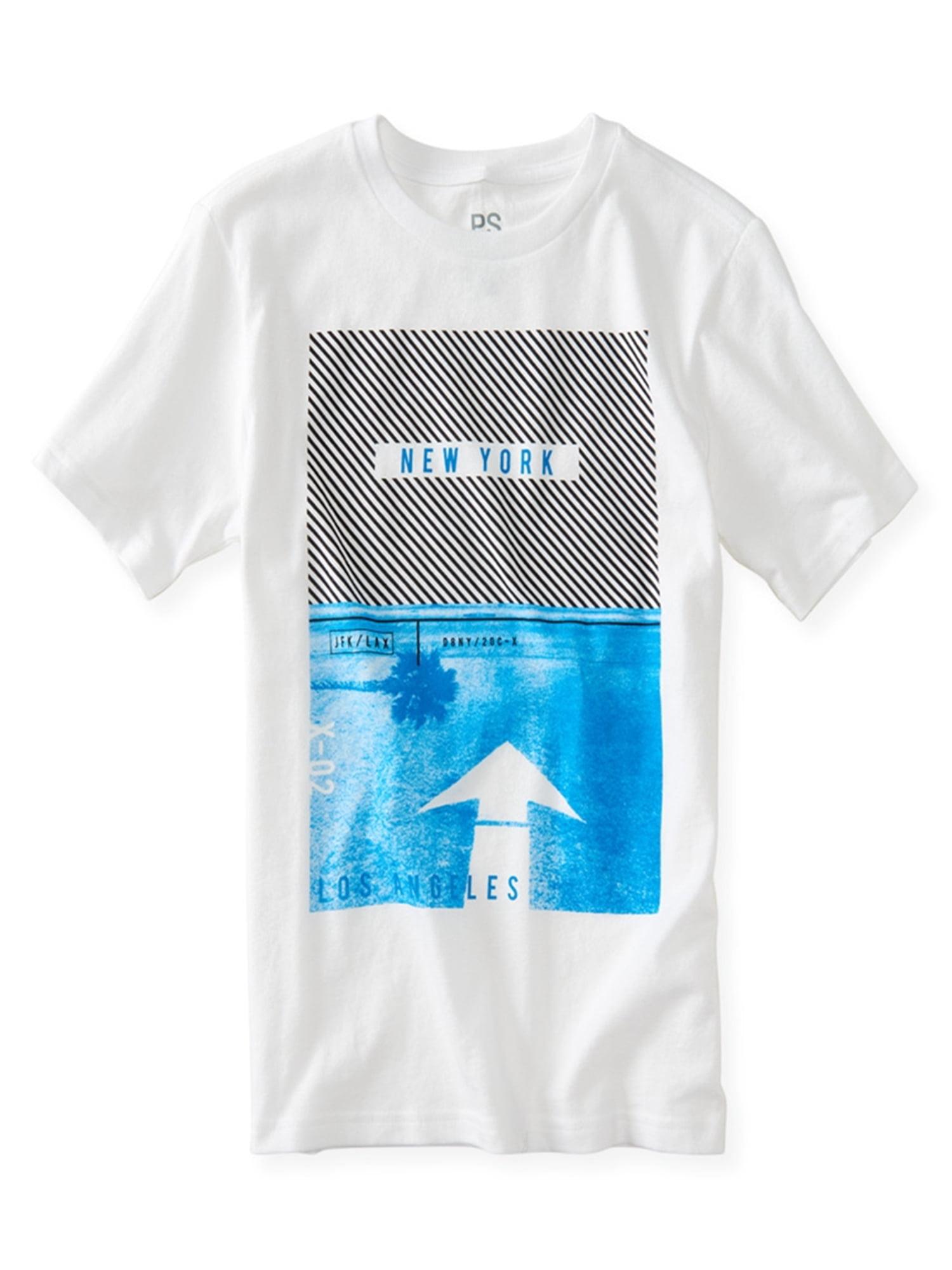 Aeropostale Boys New York Diagonal Graphic T-Shirt 102 Xs - Little Kids (4-7)