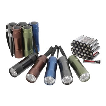 10-Pack Ozark Trail Aluminum Flashlight