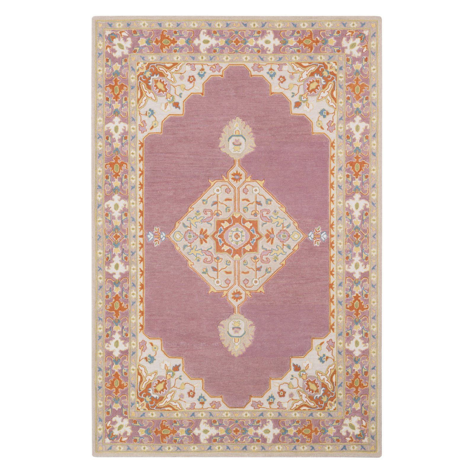Surya Fire Work Medallion Area Rug