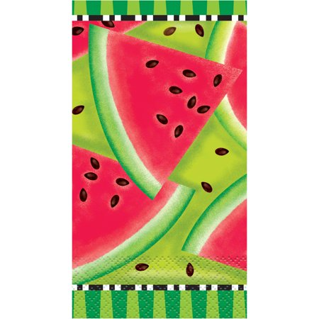 Watermelon Summer Paper Guest Napkins, 16ct - Guest Towels 100 Napkins
