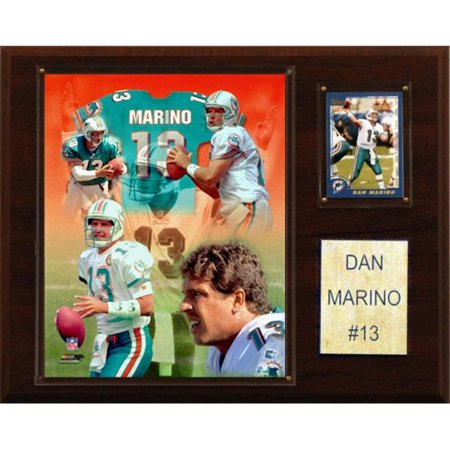 C & I Collectables 1215MARINO NFL Dan Marino Miami Dolphins Player Plaque - image 1 of 1