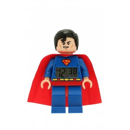 LEGO DC Universe Super Heroes Superman Fig clock