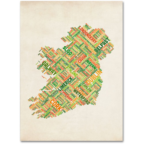 "Trademark Fine Art ""Ireland I"" Canvas Wall Art by Michael Tompsett"