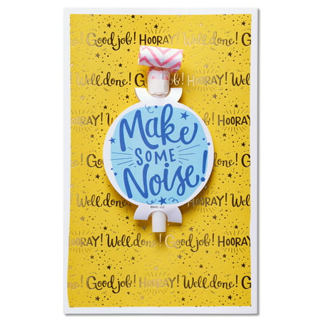 American greetings make some noise congratulations card with foil american greetings make some noise congratulations card with foil m4hsunfo