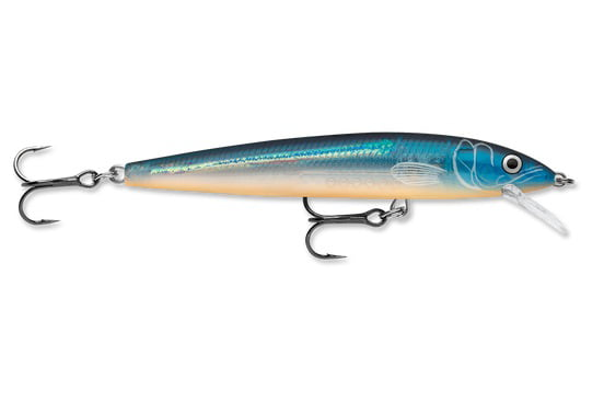 "Rapala HJ06BGH Husky Jerk Lure w 2 Hooks Size 06 Blue Ghost 2.5"" Fishing Lure by Rapala"