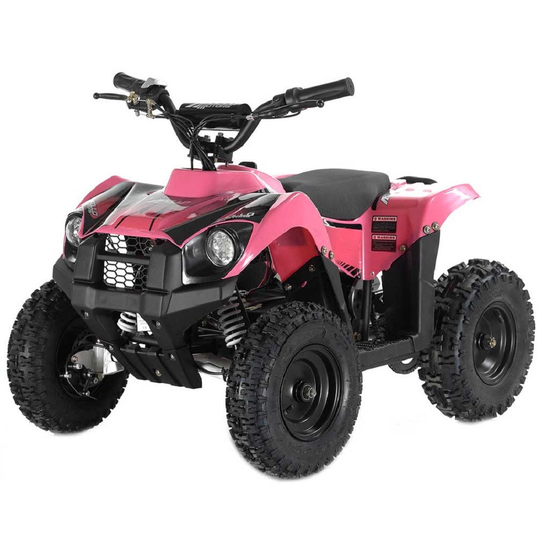 Pink Apollo VOLT 500 Watt Motor Electric ATV with Reverse