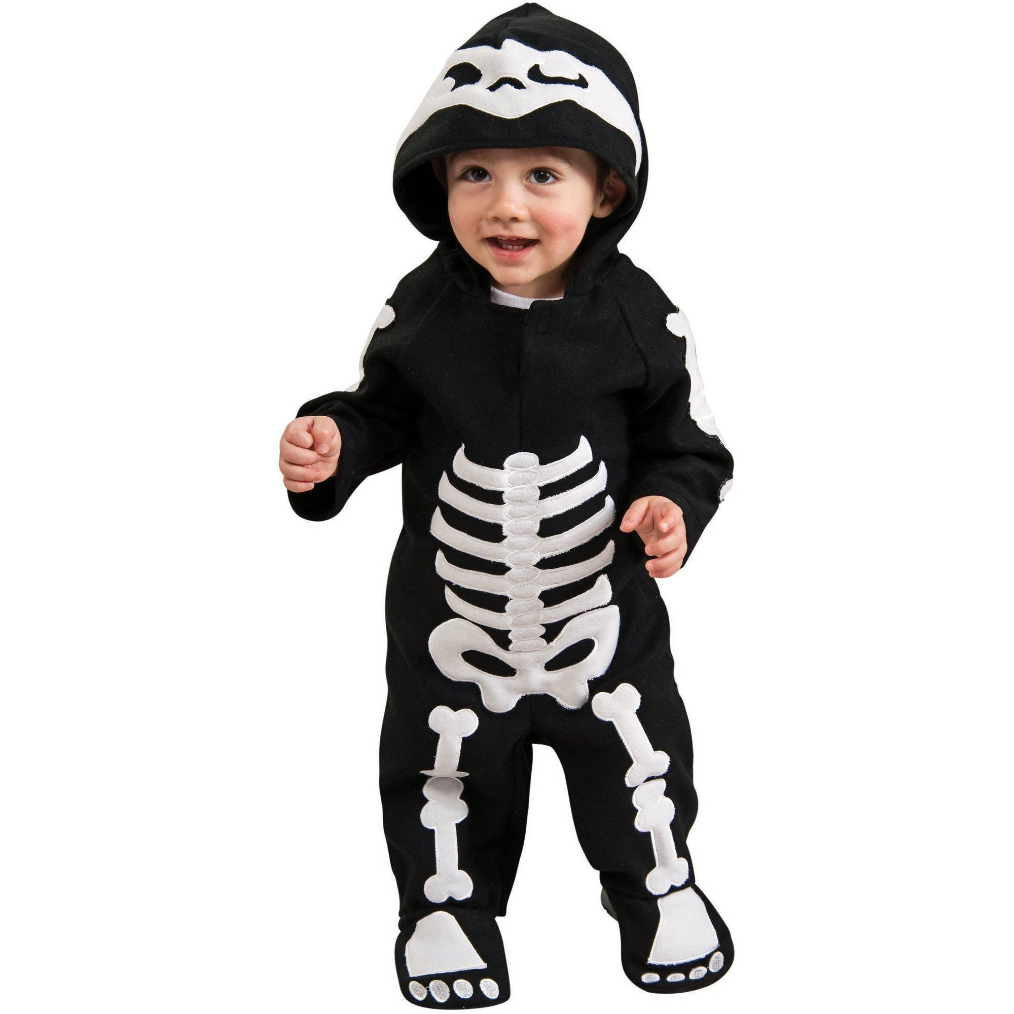 Baby Skeleton Infant Halloween Costume 6-12 Months  sc 1 st  Walmart & Skeletons Costumes