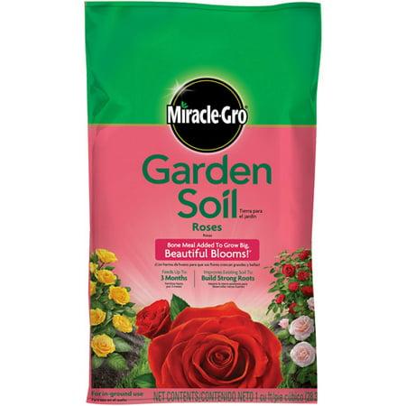 Miracle Gro Garden Soil For Roses 1 Cu Ft