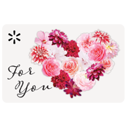 Flowers for You Walmart Gift Card