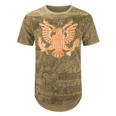 82c0ed1a4 Trending Apparel - NEW Men T-Shirt 3D Print American Bald Eagle American  Dollar 8 Colors ALL SIZES - Walmart.com