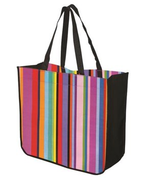 d82f4ea19e Product Image Debco TO4815 Large Multi Stripe Recycled Tote - Multi colour  as Illustrated   - 12 Pack