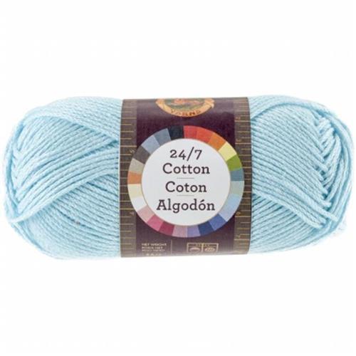 Lion Brand 761-102 24&7 Cotton Yarn - Aqua