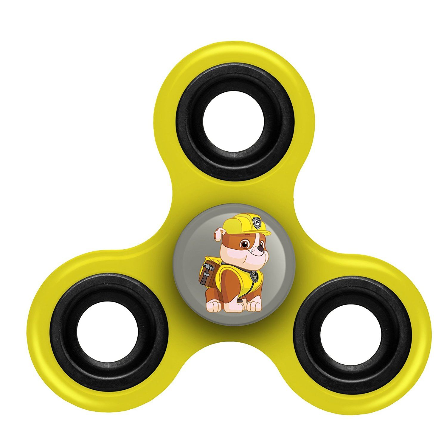 Paw Patrol Rubble 3-Way Diztracto Spinnerz Fidget Spinner Forever Collectibles