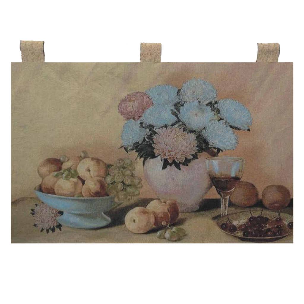 "Exquisite Tapestry Hanging Wall Picture, Fruit Tapestry, Measures 20"" x 20"""