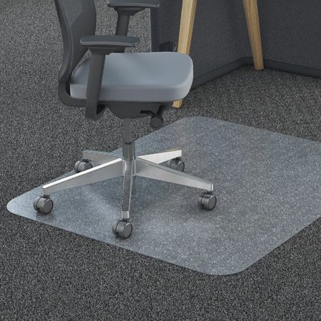 lorell polycarbonate hard floor beveled edge chair mat. Black Bedroom Furniture Sets. Home Design Ideas
