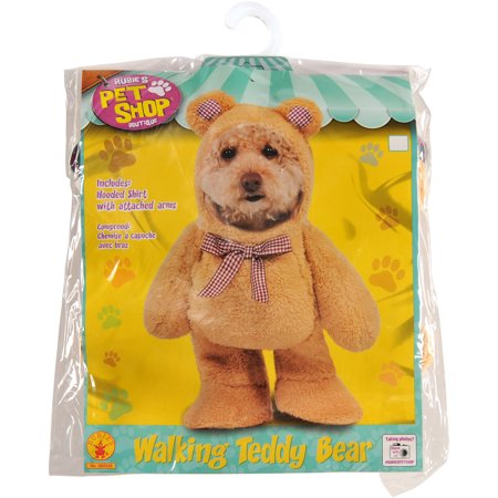 Walking Teddy Bear Pet Costume M